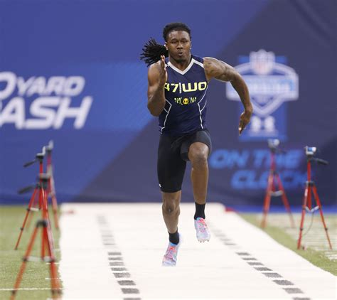 nfl combine  yard dash times usa today sports wire