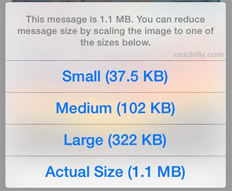 iphone image size resize photos from iphone by mailing them to yourself
