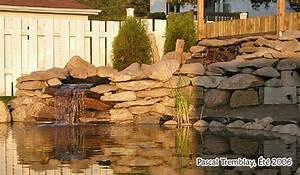 jardinagenet o afficher le sujet cascade en pierre pour With idee pour amenager son jardin 4 construire bassin exterieur etang ou jardin deau plans