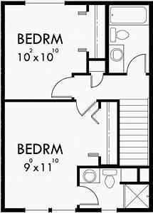 Duplex House Plans, Small Duplex House Plans, Duplex Plans ...
