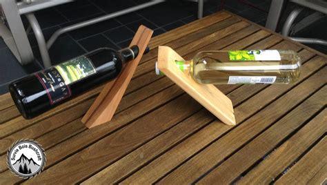 support bouteille vin comment construire un porte bouteille de vin en bois magique