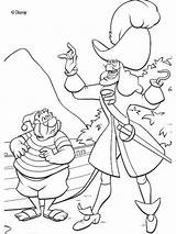 Hook Captain Coloring Pages Printable sketch template