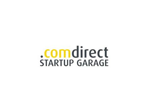 Comdirect Garage by Comdirect Richtet Start Up Garage Ein Itespresso De