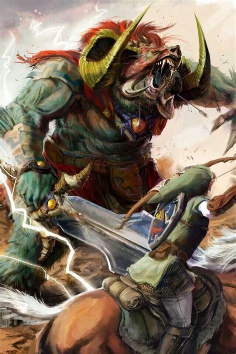 Realistic Ganon Art Aholic Legend Of Zelda Link Zelda