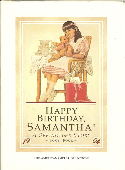 happy birthday samantha american girl wiki