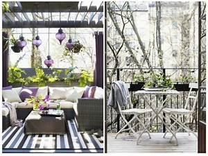 Balkon Liege Für Zwei : 1001 ideen zum thema stilvollen kleinen balkon gestalten ~ Markanthonyermac.com Haus und Dekorationen
