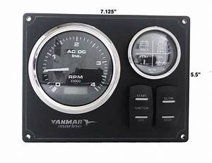 Yanmar Instrument Panel B Type Usa Made Magnetic Pick Up