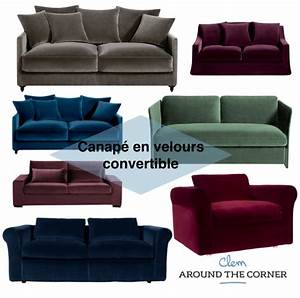 Comment Nettoyer Un Canapé En Velours : canap velours affordable decoration d interieur moderne interessant canape velours canap places ~ Dode.kayakingforconservation.com Idées de Décoration
