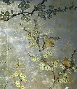 Detail: Verre Eglomise Dining Room, Reverse painting