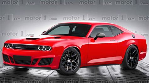New Dodge Challenger 2020 by Next Dodge Challenger Rendered With Evolutionary Design