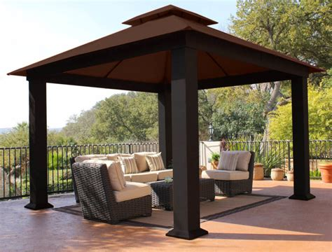 Square Gazebo by 34 Square Gazebos To Give Your Back Yard Style