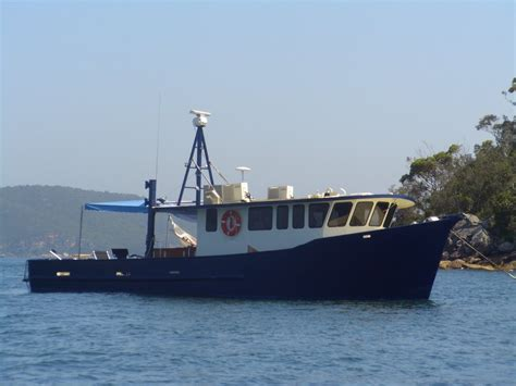 Fishing Boats For Sale Nsw Australia by Ex Trawler Power Boats Boats For Sale Steel