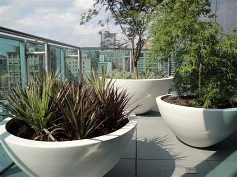 urbis planters  roof terrace house garden casa