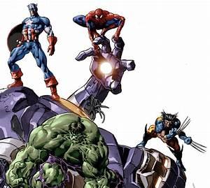 Aliexpress.com : Buy New Avengers Photo Wallpaper Comics ...