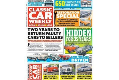 Classic Car Weekly Magazine Subscription, Paperback