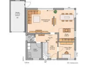 dachgeschoss küche familienhaus plus kern haus modern und hell