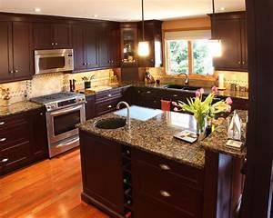 dark kitchen cabinets design pictures remodel decor and With small dark kitchen design ideas