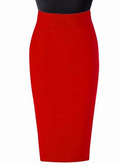Pencil Skirt Linen Skirts Waist Waisted Elizabeth