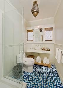 Moroccan Tile Floor - Eclectic - bathroom - La Dolce Vita