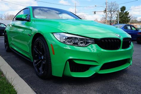 Cars For Sale by 2016 Bmw M4 In A Individual Signal Green Exterior