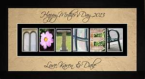 mother personalized photography letter art wall hanging With personalized letter art
