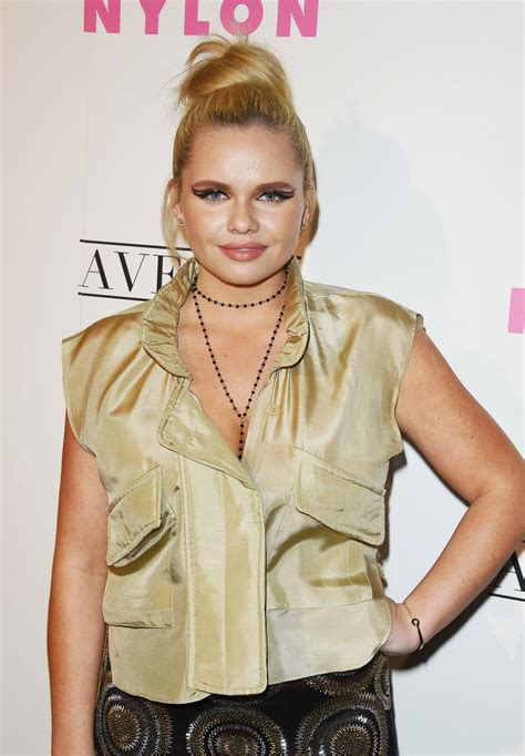 alli simpson nylon young hollywood party  los angeles