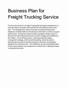 welcome to docs 4 sale With trucking business proposal letter