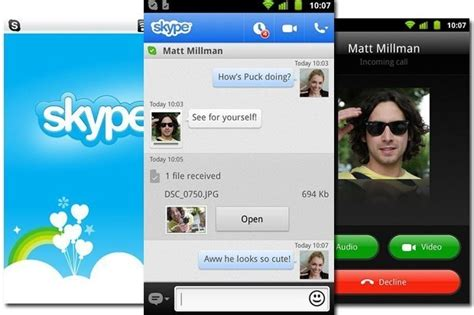 calls for android how to skype for pc android and ios blorge