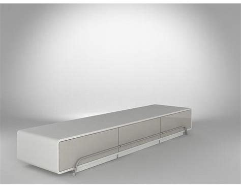meuble tv haut de gamme blanc