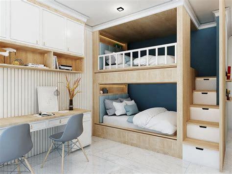 Fokus utama tentunya pada bak mandi yang tidak lebih dari 1 meter pada kamar mandi minimalis ukuran 1 x 2 ini. 20 Tempat Tidur Tingkat Untuk Solusi Kamar Tidur Kecil