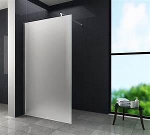Paroi Douche Verre Sablé : paroi fixe robusta 300cm paisseur 10mm paroi de douche ~ Premium-room.com Idées de Décoration