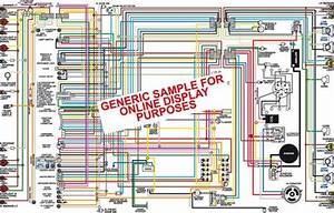 1972 Chevy Camaro Color Wiring Diagram  Gauges