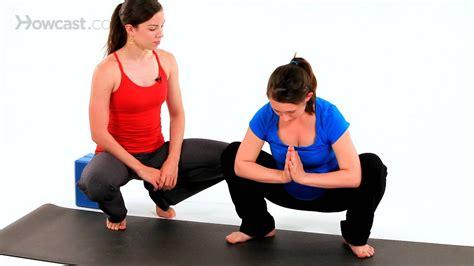 prenatal yoga squatting pose pregnancy workout