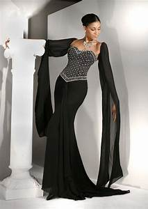 black wedding dress ideas sang maestro With black dress evening wedding