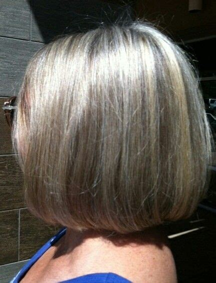 images  gray hair  hilites  pinterest