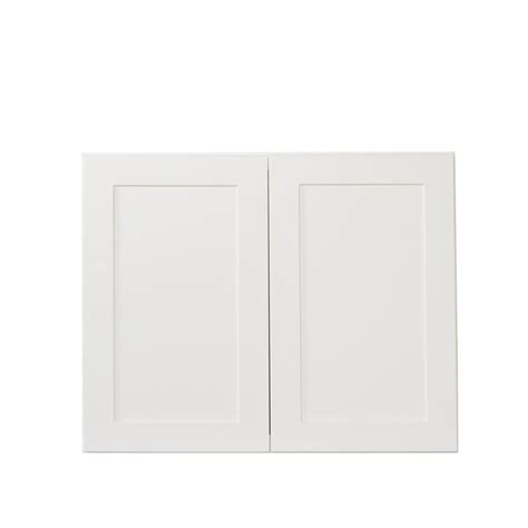 white shaker wall cabinets bremen ready to assemble 36x21x24 in shaker high double