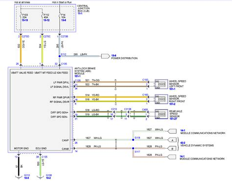 Power Window Wiring Schematic 1999 F 150 by F 150 Abs 2009 Gallery