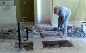 Plumbing Under Concrete Slab