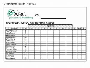batting order template free download free motorcycleprogs With batting order template