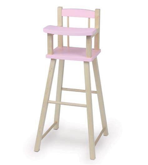 chaise haute poup e chaise haute petitcollin poupees baigneurs com la