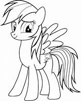 Rainbow Coloring Dash Pages Printable sketch template