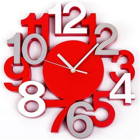 pendules murales cuisine pendule murale horloge design chiffres gris
