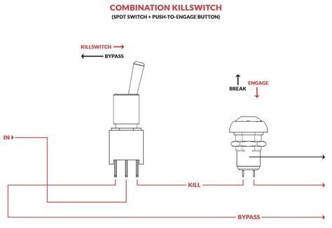 electrical wiring combination killswitch kill switch