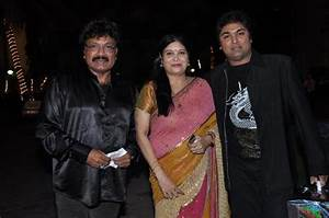 Music Director Shravan Rathod with his family at the ...