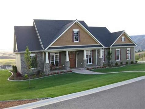 country home plans one single craftsman house plans single craftsman