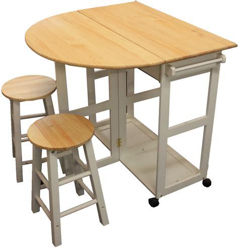 maribelle folding table  stool set kitchen breakfast