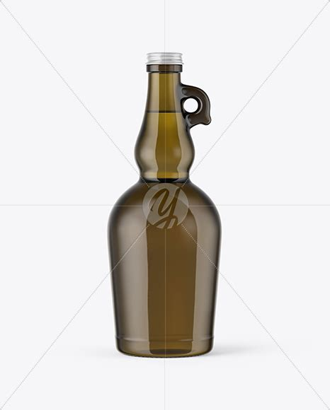 Check out this minimal glass bottle mockup from placeit and use it to promote your skincare brand in the most amazing way. 750ml Antique Green Glass Olive Oil Bottle Mockup in ...