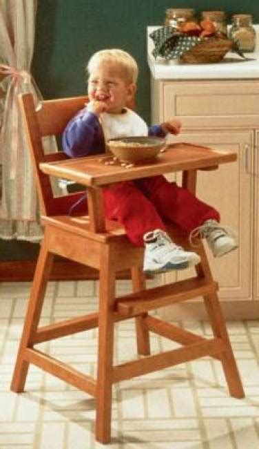 happy days high chair woodworking plan woodworkersworkshop