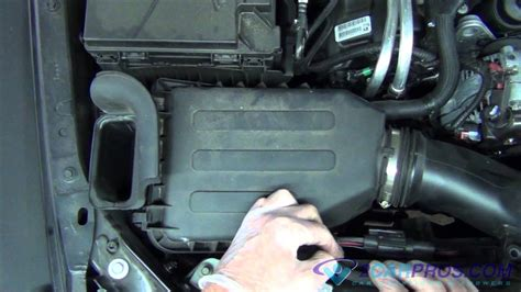Air Filter Replacement Jeep Wrangler Youtube