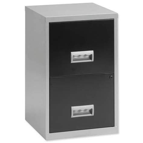 cabinet briaud agence henri iv buy henry filing cabinet steel lockable 2 drawers a4 silver and black ref 095808 095808